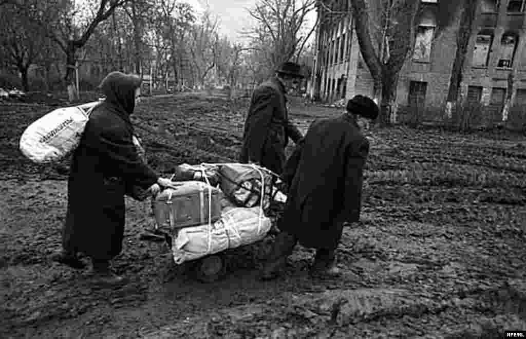 Беренче чечен сугышын фотога төшерү #16