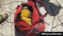 Конфискованная партия наркотиков, Баткен, 21 июля 2012 года.