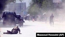 Кабулда 30-апрелде болгон жанкечтинин жардыруусу.