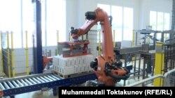Илустрација: Робот во фабрика во Чешка