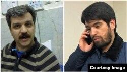 رضا شهابی (چپ) و احسان مازندرانی