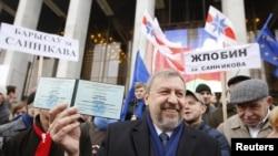 Кандадат в президенты Беларуси Андрей Санников