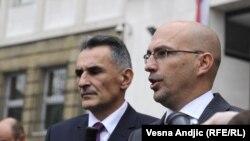 Zoran Šangut (desno)