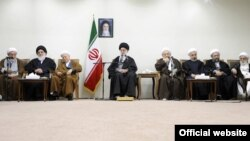 آخرین دیدار اعضای مجلس خبرگان رهبری با رهبر جمهوری اسلامی