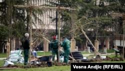 Rekonstrukcija Studentskog parka