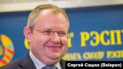 Міністар фінансаў Максім Ермаловіч, архіўнае фота