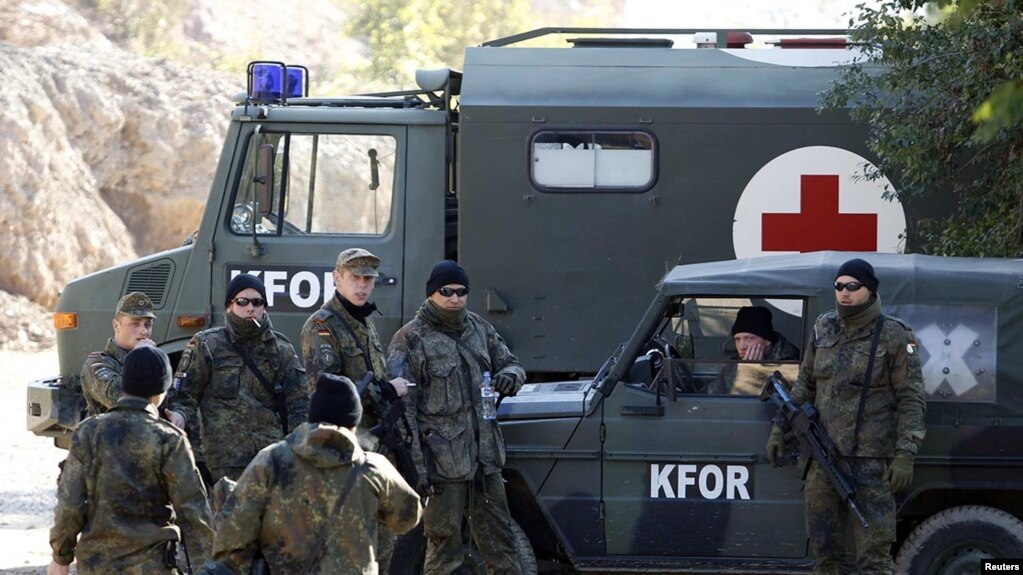 Tensions High As NATO Convoy Turned Away At Serb Roadblock