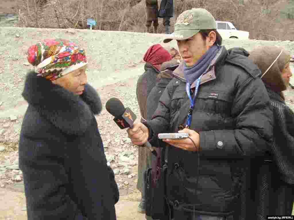 """Жанар Акаев бессменный автор и журналист """"Азаттык+"""" последние два года."""