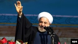 Iranian President Hassan Rohani (file photo)
