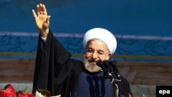 Relations between London and Tehran have improved since President Hassan Rohani came to power last year. (file photo)