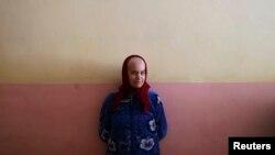 """Пациентка психоневрологической больницы в Славяносербске, 30 километров от Луганска, территория, подконтрольная """"ЛНР"""""""