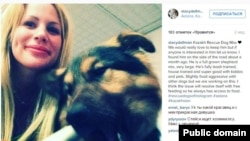 Стейси Даллмэн в последнее время активно помогает бездомным животным в Астане