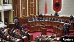 Pamje nga një seancë e mëparshme e Kuvendit të Shqipërisë