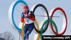 Александр Легков на Олимпиаде в Сочи