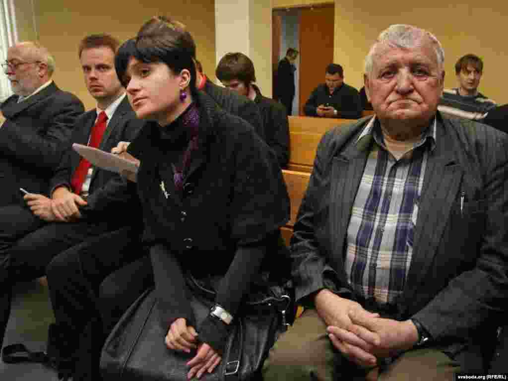 Наста Палажанка і Вячаслаў Дашкевіч