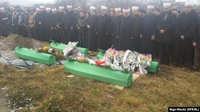 Ukop četiri člana porodice Ribič iz Zvornika koja je pobijena 1992. godine