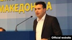 Претседателот на СДСМ, Зоран Заев.
