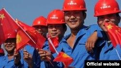 Кыргызстанда иштеген кытай жарандары