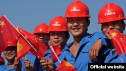 In joint Kyrgyz-Chinese construction projects in Kyrgyzstan, up to 70 percent of the jobs are set aside for Chinese workers, an official says.