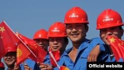 Кыргызстанда иштеген Кытай жарандары.