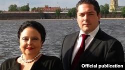 Мария и Георгий Романовы