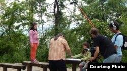 Djeca sudjeluju u snimanju filma, ilustrativna fotografija