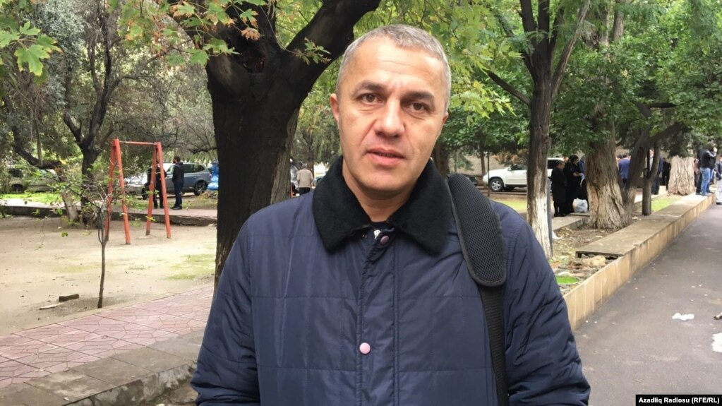 "Lawyer Yalcin Imanov doubts he will be allowed to practice law in the future. ""I don't have any hope for a fair ruling."""