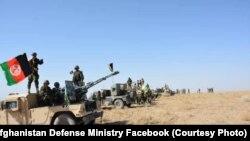 په کندهار کې افغان امنیتي ځواکونه