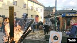 Волнения, вспыхнувшие в районе Копенгагена Норребро, быстро перекинулись в центр города - Кристиансхавн