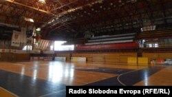 Спортската сала во Куманово.