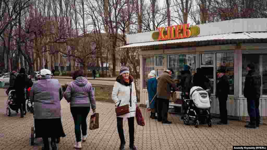 Одно их самых оживленных мест – пересечение улиц Гайдара и Сопина