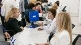 Центр предоставления административных услуг на КПВВ «Каланчак», декабрь 2019 года
