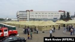 Московська влада створила табір для нелегалів, які чекають на депортацію