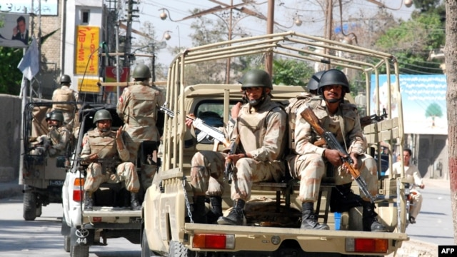Security Forces In Baluchistan
