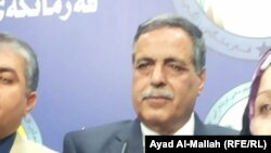 Iraqi Electricity Minister Qassim al-Fahdawi (file photo)