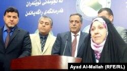 مجلس النواب العراقي :المؤتمر الصحفي لوزير الكهرباء قاسم الفهداوي