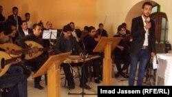 جانب من حفل معهد الدراسات الموسيقية