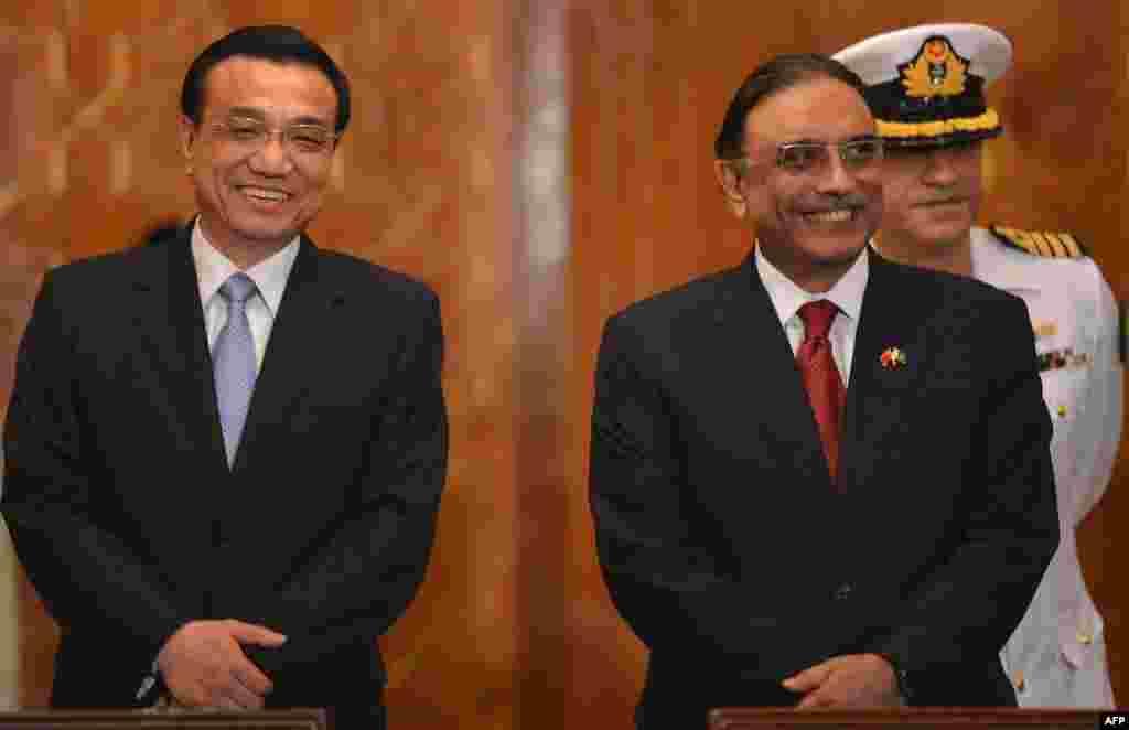 Премьер-министр КНР с президентом Пакистана