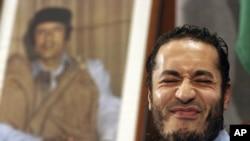 Ливия собиқ раҳбарининг ўғли ал-Саади Қаддафий, 2005 йил феврал.