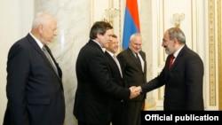 ATƏT-in Minsk qrupunun həmsədrləri mayın 27-də Yerevanda Ermənistanın baş naziri Nikol Pashinian-la görüşüblər