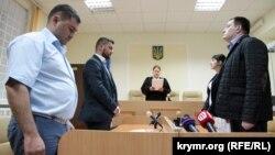 Вынесение решения по аресту прокурора Сергея Хальзева