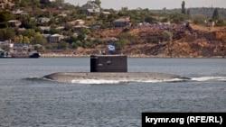 "UKRAINE, SEVASTOPOL – Ships of the Black Sea Fleet of Russia. Submarine ""Alrosa"", 2007, 28May2019"