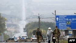 Український блокпост біля Дебальцевого, 9 вересня