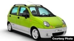 Автомобиль Daewoo Matiz.