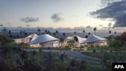 Проект президентской библиотеки Барака Обамы, который был предложен к постройке на Гавайях