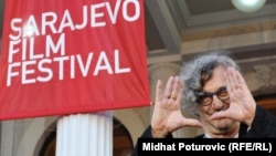 Wim Wenders na Sarajevo Film Festivalu, 2011.