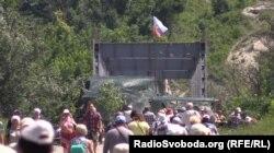 Перехід зі Станиці Луганської до териорії, яка контролюється проросійськими бойовиками