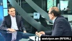 Начальник Полиции Армении Валерий Осипян дает интервью Радио Азатутюн, Ереван, 14 мая 2018 г.