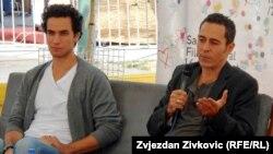 Glumci Adam Makri i Waleed Zuaiter