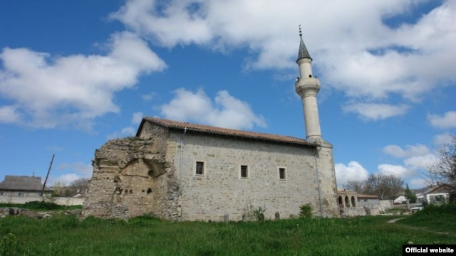 Крымско-татарская мечеть в Крыму